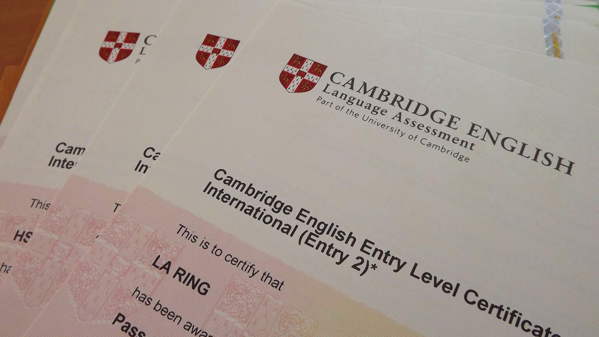 آزمون های کمبریج FCE, CAE, CPE